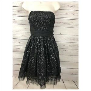 Strapless Betsey Johnson Cocktail/Prom Dress